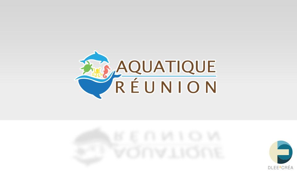 le logo de Aquatique Réunion