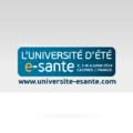 Logotype Université d'été de la esanté – proposition