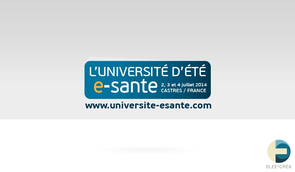 bannière de l'université de la e-santé