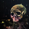 Skull – Scratchboard