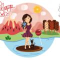 Illustration Loleepop World